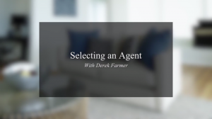 Once you select a real estate agent to sell your property they will be your main point of contact for all marketing, negotiation and sales so it's important to choose the right person and set clear expectations.