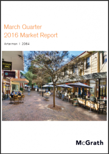 Artarmon Property Market Performance Quarterly Report - March 2016 Ashton Rowe